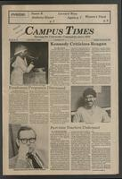 Campus Times (February 16, 1982)