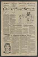 Campus Times (January 26, 1982)