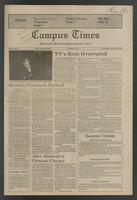 Campus Times (December 02, 1981)