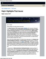Hajim Highlights (October 17, 2016)