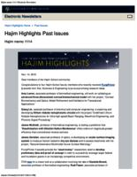 Hajim Highlights (November 14, 2016)
