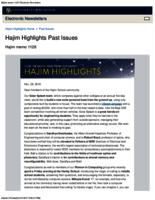 Hajim Highlights (November 28, 2016)
