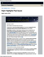 Hajim Highlights (December 19, 2016)