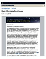 Hajim Highlights (January 16, 2017)