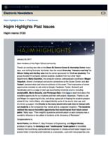 Hajim Highlights (January 30, 2017)