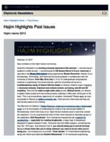 Hajim Highlights (February 13, 2017)