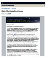 Hajim Highlights (February 27, 2017)