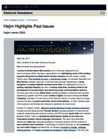 Hajim Highlights (March 20, 2017)