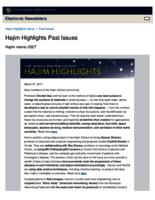 Hajim Highlights (March 27, 2017)