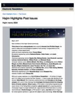 Hajim Highlights (May 8, 2017)