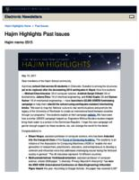 Hajim Highlights (May 15, 2017)