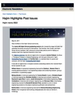 Hajim Highlights (May 22, 2017)
