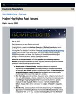 Hajim Highlights (May 30, 2017)