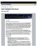 Hajim Highlights (June 19, 2017)