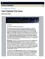 Hajim Highlights (June 26, 2017)