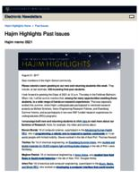 Hajim Highlights (August 21, 2017)