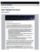 Hajim Highlights (September 11, 2017)