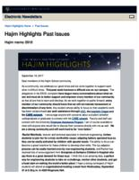 Hajim Highlights (September 18, 2017)