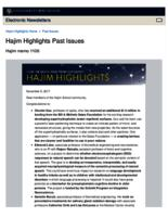 Hajim Highlights (November 6, 2017)