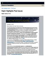 Hajim Highlights (November 13, 2017)