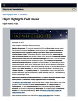 Hajim Highlights (November 20, 2017)