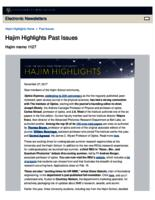 Hajim Highlights (November 27, 2017)