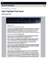 Hajim Highlights (December 18, 2017)