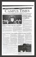 Campus Times (December 05, 1991)