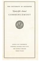 Commencement program, 1945