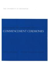 Commencement program, 1971