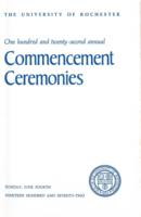 Commencement program, 1972