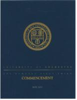 Commencement program, 2013