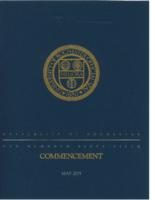 Commencement program, 2015