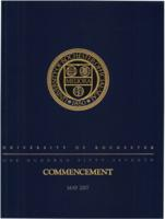 Commencement program, 2007