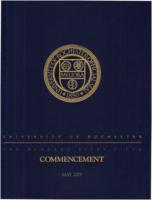 Commencement program, 2005