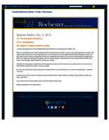 Grads@Rochester: Special Edition: Death of a Great University Leader (October 2, 2013)