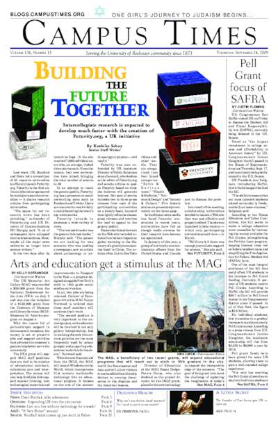 Campus Times (September 24, 2009)