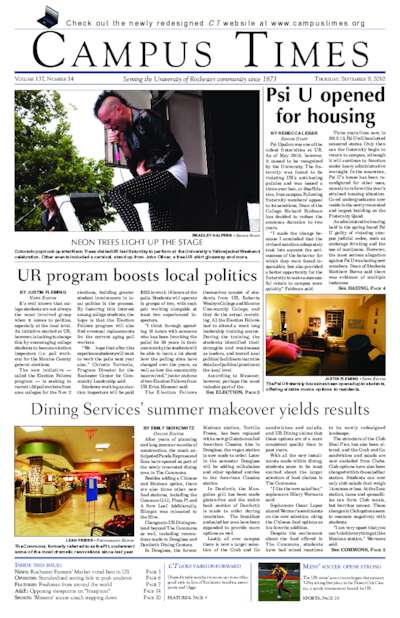 Campus Times (September 09, 2010)