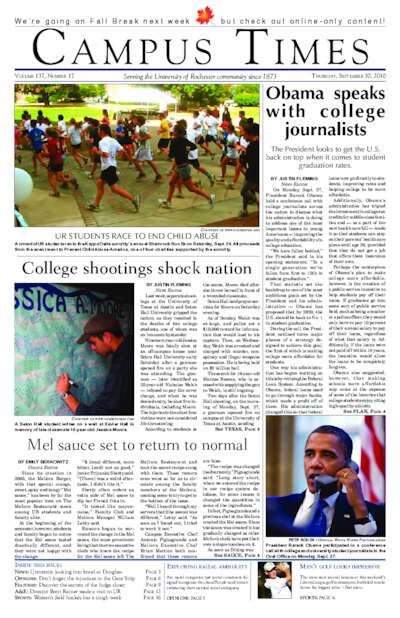 Campus Times (September 30, 2010)