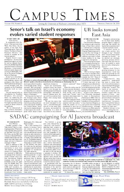 Campus Times (February 24, 2011)