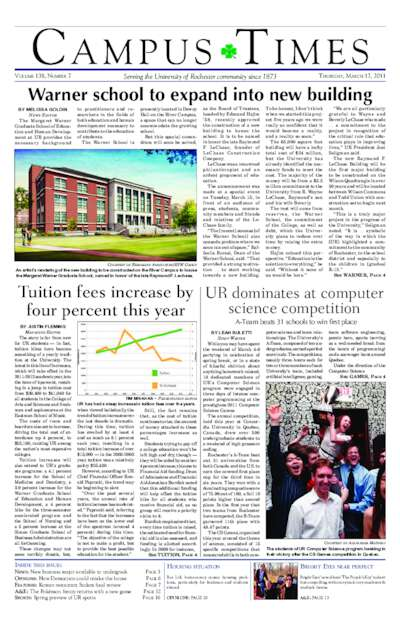 Campus Times (March 17, 2011)
