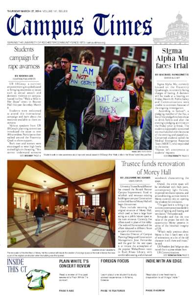 Campus Times (March 27, 2014)