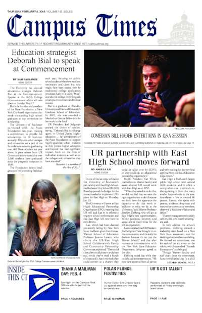 Campus Times (February 05, 2015)