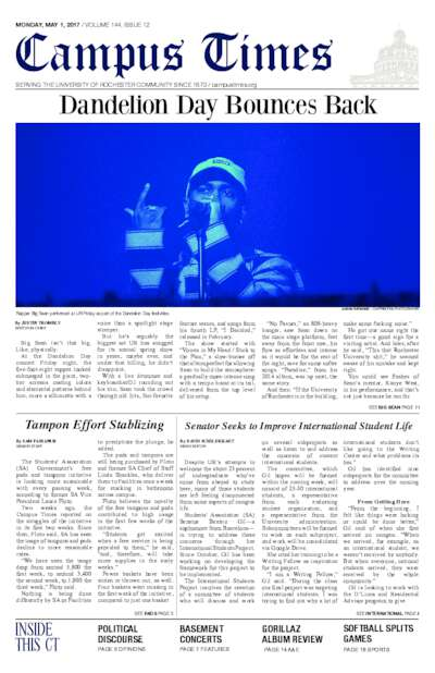 Campus Times (May 1, 2017)