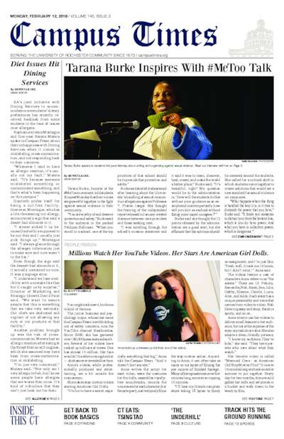 Campus Times (February 12, 2018)