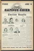 Campus Crier (May 21, 1953)