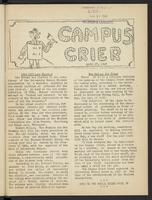 Campus Crier (April 27, 1948)