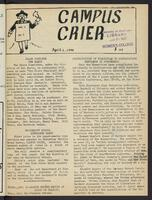 Campus Crier (April 01, 1947)