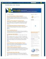 Weekly Buzz (April 3, 2011)