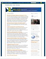 Weekly Buzz (December 2, 2012)